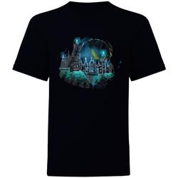 vaatteet Lyhythihainen t-paita Harry Potter  Black