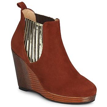 kengät Naiset Nilkkurit MySuelly LEON Kulta