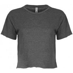 vaatteet Naiset Lyhythihainen t-paita Next Level NX5080 Charcoal Grey