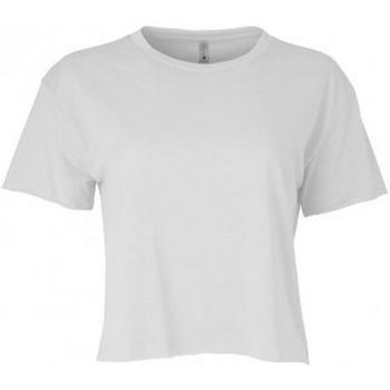 vaatteet Naiset Lyhythihainen t-paita Next Level NX5080 White