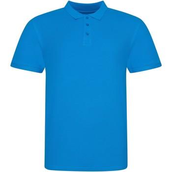 vaatteet Lyhythihainen poolopaita Awdis JP100 Azure Blue