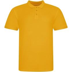 vaatteet Lyhythihainen poolopaita Awdis JP100 Mustard