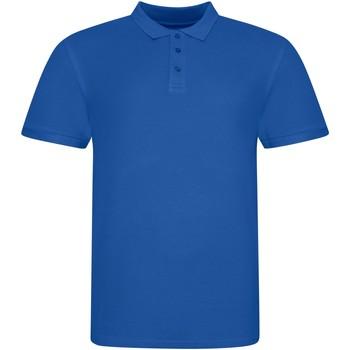vaatteet Lyhythihainen poolopaita Awdis JP100 Royal Blue