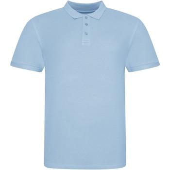 vaatteet Lyhythihainen poolopaita Awdis JP100 Sky Blue