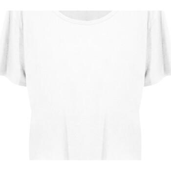 vaatteet Naiset Lyhythihainen t-paita Ecologie EA02F Arctic White