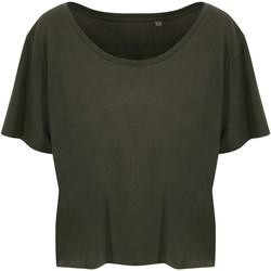 vaatteet Naiset Lyhythihainen t-paita Ecologie EA02F Fern Green