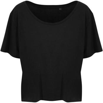 vaatteet Naiset Lyhythihainen t-paita Ecologie EA02F Jet Black