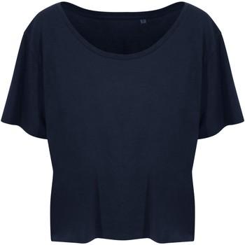 vaatteet Naiset Lyhythihainen t-paita Ecologie EA02F Navy