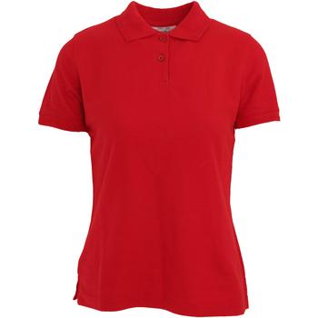 vaatteet Naiset Lyhythihainen poolopaita Absolute Apparel  Red