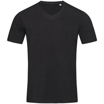 vaatteet Miehet Lyhythihainen t-paita Stedman Stars  Black