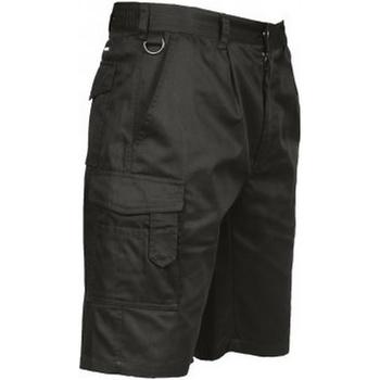 vaatteet Miehet Shortsit / Bermuda-shortsit Portwest PW128 Black