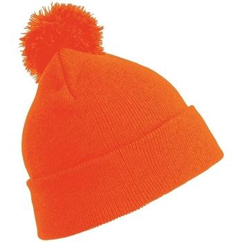 Asusteet / tarvikkeet Lapset Pipot Result Winter Essentials RC028J Fluorescent Orange