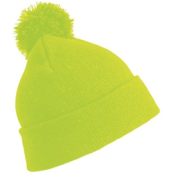 Asusteet / tarvikkeet Lapset Pipot Result Winter Essentials RC028J Fluorescent Yellow