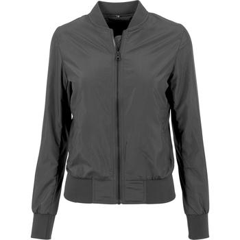 vaatteet Naiset Takit Build Your Brand BY044 Black