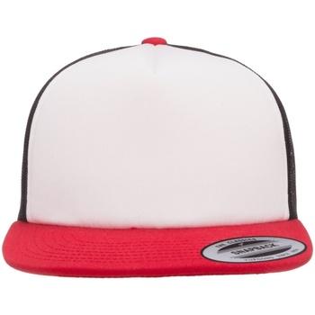Asusteet / tarvikkeet Lippalakit Flexfit By Yupoong YP076 Black/White/Red