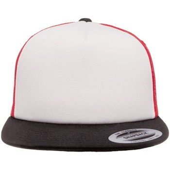 Asusteet / tarvikkeet Lippalakit Flexfit By Yupoong YP076 Red/White/Black