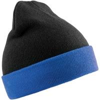 Asusteet / tarvikkeet Pipot Result Genuine Recycled RC930 Black/Royal Blue