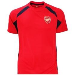 vaatteet Pojat Lyhythihainen t-paita Arsenal Fc  Red/Black