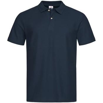 vaatteet Miehet Lyhythihainen poolopaita Stedman  Blue Midnight