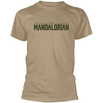 vaatteet Lyhythihainen t-paita Star Wars: The Mandalorian  Beige