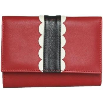 laukut Naiset Lompakot Eastern Counties Leather  Red/Black