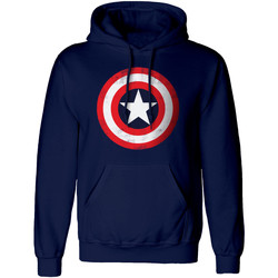 vaatteet Svetari Captain America  Navy/Red/White