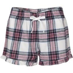 vaatteet Naiset pyjamat / yöpaidat Sf SK82 White/Pink
