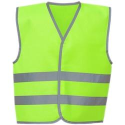 vaatteet Lapset Neuleet / Villatakit Yoko YK106B Lime Green