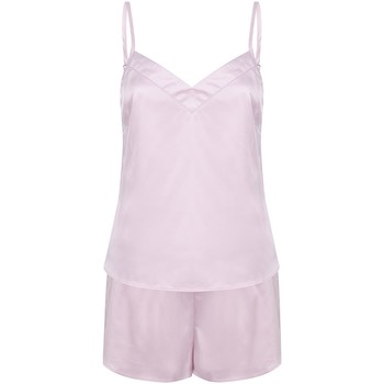 vaatteet Naiset pyjamat / yöpaidat Towel City TC057 Light Pink