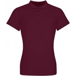 vaatteet Naiset T-paidat & Poolot Awdis JP100F Burgundy