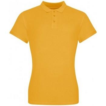 vaatteet Naiset T-paidat & Poolot Awdis JP100F Mustard Yellow