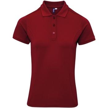 vaatteet Naiset T-paidat & Poolot Premier PR632 Burgundy