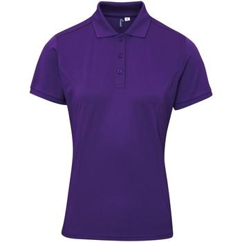 vaatteet Naiset T-paidat & Poolot Premier PR632 Purple