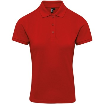 vaatteet Naiset T-paidat & Poolot Premier PR632 Red