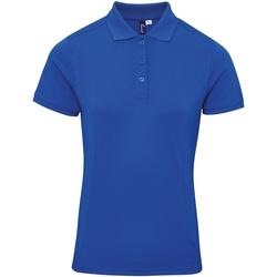 vaatteet Naiset T-paidat & Poolot Premier PR632 Royal