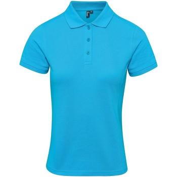vaatteet Naiset T-paidat & Poolot Premier PR632 Turquoise