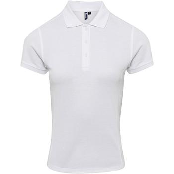vaatteet Naiset T-paidat & Poolot Premier PR632 White