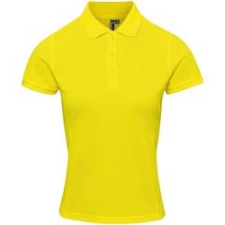vaatteet Naiset T-paidat & Poolot Premier PR632 Yellow