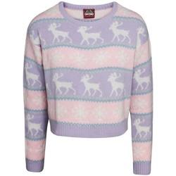 vaatteet Naiset Svetari Christmas Shop  Pink/Purple