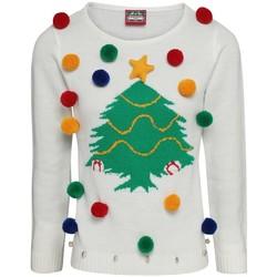 vaatteet Naiset Svetari Christmas Shop CJ102 White