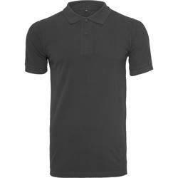 vaatteet Miehet T-paidat & Poolot Build Your Brand BY008 Black