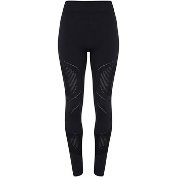 vaatteet Naiset Legginsit Tridri TR207 Black