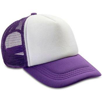 Asusteet / tarvikkeet Miehet Lippalakit Result Headwear RC89X Purple/White
