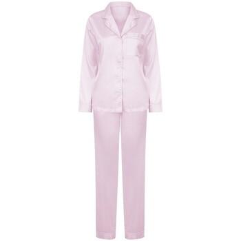 vaatteet Naiset pyjamat / yöpaidat Towel City TC055 Light Pink
