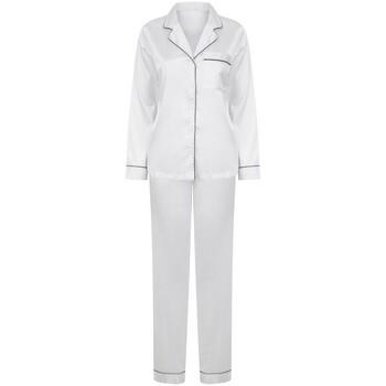 vaatteet Naiset pyjamat / yöpaidat Towel City TC055 White