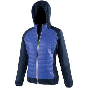 vaatteet Naiset Takit Spiro S268F Royal Blue/Navy