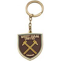 Asusteet / tarvikkeet Avaimenperät West Ham United Fc  Brown