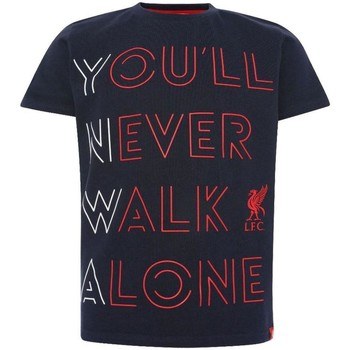 vaatteet Lapset T-paidat & Poolot Liverpool Fc  Navy/Red