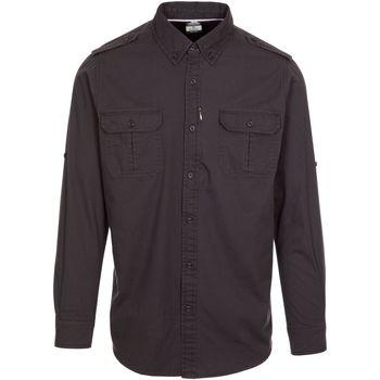 vaatteet Miehet T-paidat & Poolot Trespass  Dark Grey