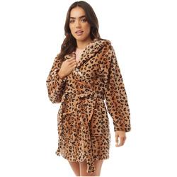 vaatteet Naiset pyjamat / yöpaidat Brave Soul  Leopard Print